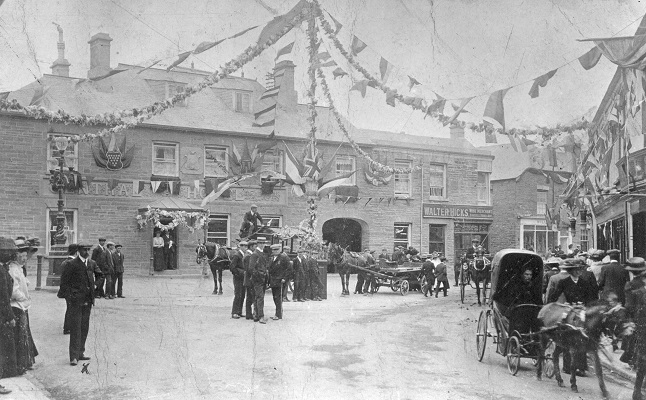 Commercial Square, Newquay 1909