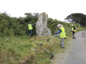 St Eval Longstone 1st July 2021 'Getting there'