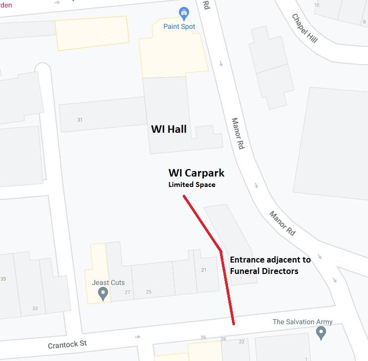 WI Hall, Crantock Street, Newquay