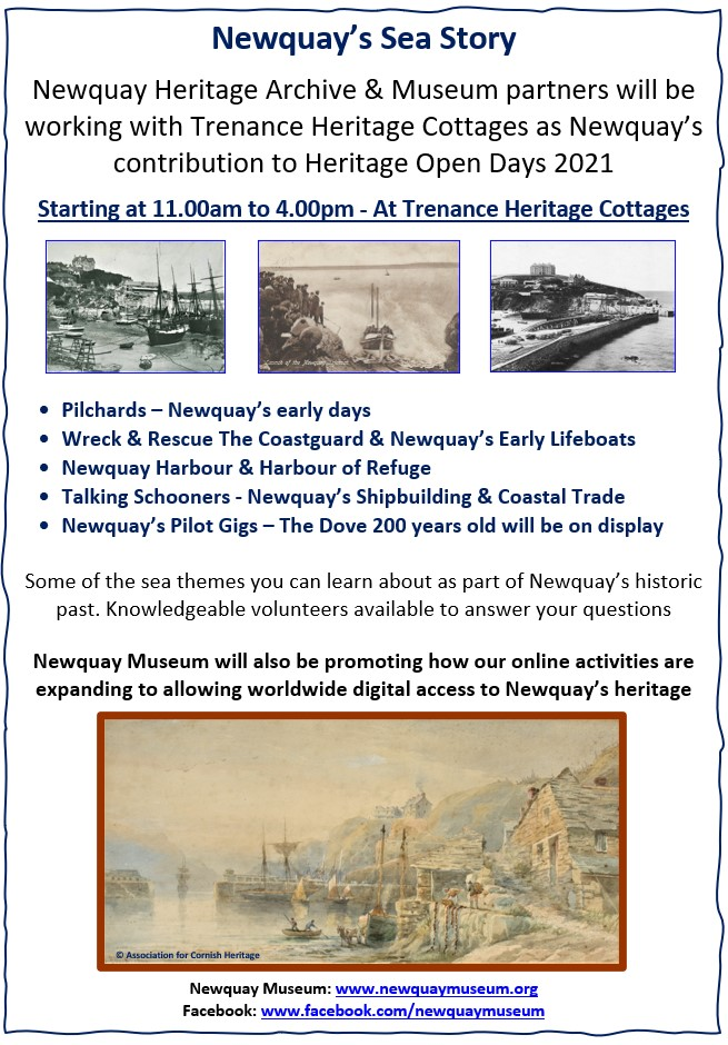 Newquay's Sea Story - Heritage Open Day 2021